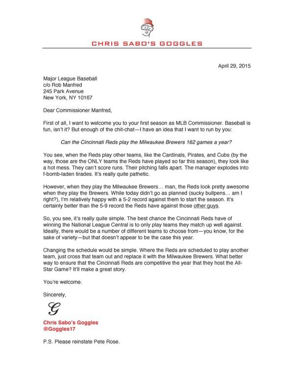 MLB-Letter